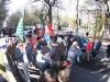 Vertenza Micron: protesta a L'Aquila