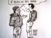 Disoccupazione Italia - Vignetta di Benito Di Biase